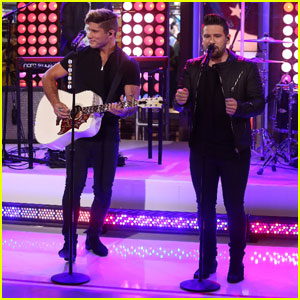 Dan & Shay Perform 'The World's Greatest' on 'GMA' - Watch Now!