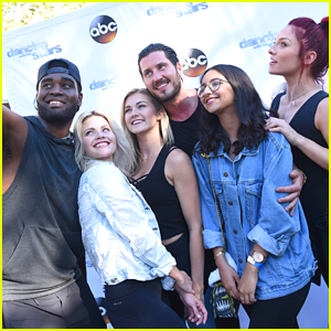 Sharna Burgess, Witney Carson & Val Chmerkovskiy Host DWTS Dance Lab at The Grove