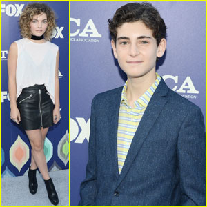 'Gotham' Stars David Mazouz & Camren Bicondova Hit Up TCA 2016