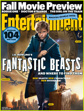 Eddie Redmayne Says There's a Dark Side to 'Fantastic Beasts & Where to Find Them'