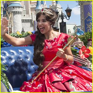 Jenna Ortega Joins Elena Of Avalor's Royal Debut Celebration at Walt Disney World