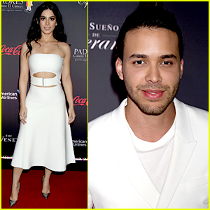 Emeraude Toubia & Prince Royce Couple Up For Padres Contra El Cancer's 'El Sueno de Esperanza' Celebration