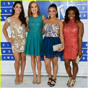 The Final Five Gymnasts Hit MTV VMAs 2016 Carpet Without Gabby Douglas