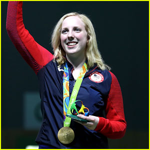 Team USA's First Gold Medal in Rio Goes to Ginny Thrasher!