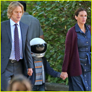 Jacob Tremblay Continues to Film 'Wonder' With Julia Roberts & Owen Wilson