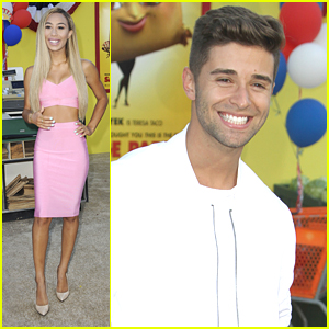 Jake Miller & Eva Gutowski Hit 'Sausage Party' Premiere in LA