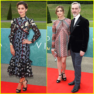 Jenna Coleman Premieres 'Victoria' With Tom Hughes in London