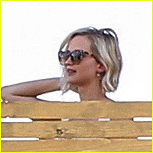 Jennifer Lawrence Celebrates 26th Birthday in Canada!