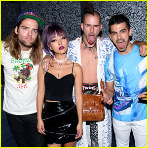 Joe Jonas & DNCE Celebrate One Year Anniversary As a Band!