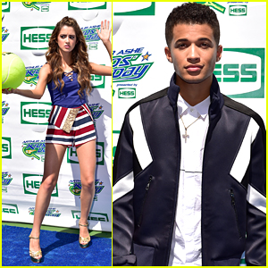 Laura Marano & Jordan Fisher Join Joey Bragg at Arthur Ashe Kids' Day