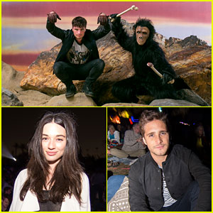 Crystal Reed & Diego Boneta Take In a Screening of '2001: A Space Odyssey'