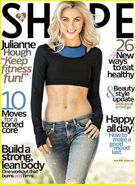 Julianne Hough Talks Exercise, Cheat Days & More with 'Shape' Mag