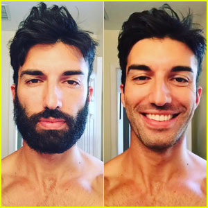 Justin Baldoni Shaves His 'Hiatus Beard' Before 'Jane the Virgin' Filming