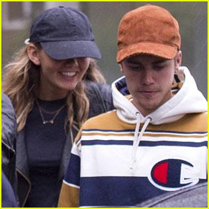 Justin Bieber Hangs with Bronte Blampied: I'm 'Loving London'