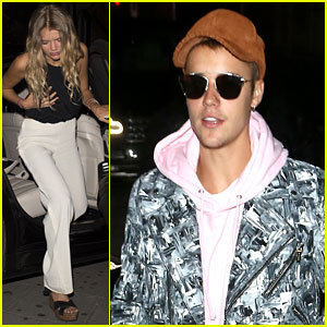 Justin Bieber Hangs with Bronte Blampied in London