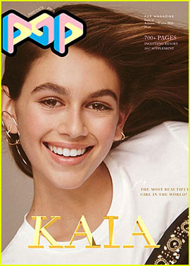 Kaia Gerber Lands First Magazine Cover with 'Pop'!