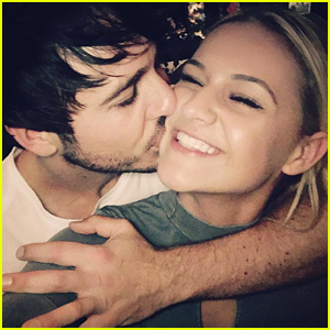 Kelsea Ballerini Gets Cute Kiss from Boyfriend Morgan Evans