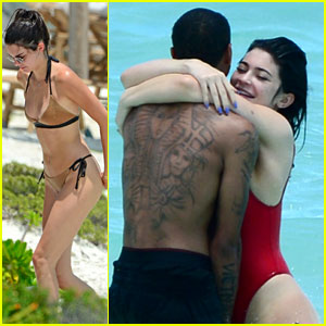 Kylie Jenner Embraces Tyga in Turks & Caicos for Birthday Celebration!