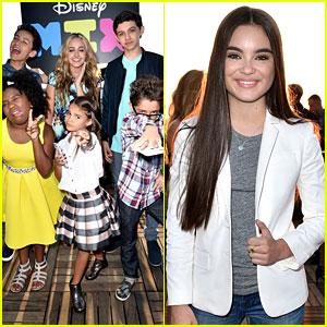 Landry Bender, Sophie Reynolds, & More Celebrate Disney Mix's Launch with JJJ!