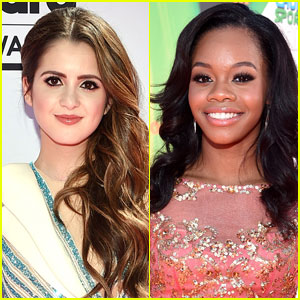 Laura Marano & Gabby Douglas to Judge Miss America 2017!