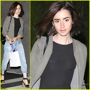 Lily Collins Sends Kevin Zegers Twins a Birthday Cake Lily