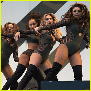 Little Mix Rock Out V Festival After Celebrating 5 Years Together