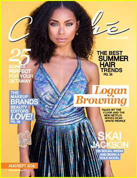 Logan Browning Is Learning French, Loves Reading & Might Go Into Interior Design