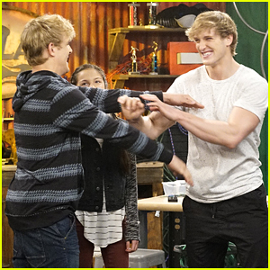 Logan Paul Guest Stars on 'Bizaardvark' With Brother Jake!