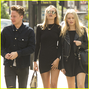 Conor Maynard Lunches With Lottie Moss in London