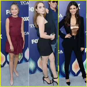 Maddie Ziegler & Liz Gillies Party it Up With Fox at TCA 2016
