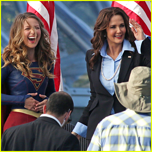 Melissa Benoist Films First Scenes With Lynda Carter on 'Supergirl'