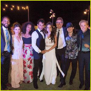 Monique Coleman, Lucas Grabeel & More 'HSM' Stars Attend Corbin Bleu's Wedding!