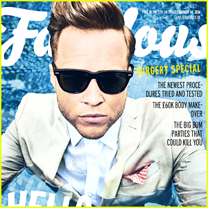 Olly Murs Covers This Weekend's 'Fabulous' Mag - See The Olympic Themed Cover!