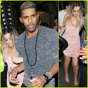 Perrie Edwards Parties With Hot Backup Dancer Claudimar Neto in London