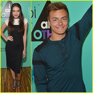 Peyton Meyer Joins Lilimar at Yoobi Back To School Event