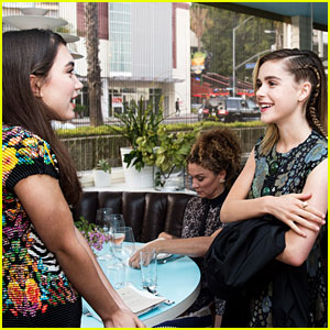 Rowan Blanchard Discusses Her 'Wonderful' Weekend with Women of Cinefamily
