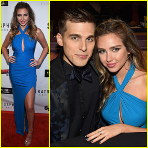 Ryan Newman & Cody Linley Premiere 'Sharknado: The 4th Awakens' in Las Vegas