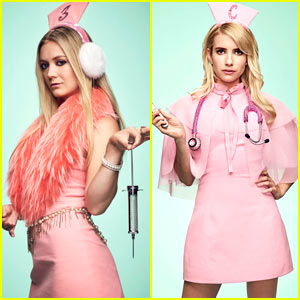 'Scream Queens' Cast Get into Character in New Promo Pics!
