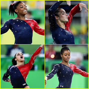 Simone Biles Tops Floor Routine Leaderboard At Rio Gymnastics Qualifications