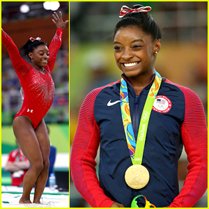 Simone Biles Wins Gold Medal In Vault at Rio Olympics!