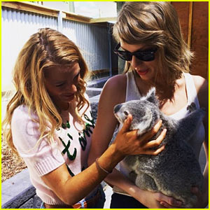 Taylor Swift Posts Cute Throwback Pic for Blake Lively's Birthday!