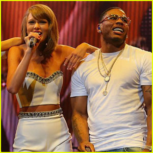 Taylor Swift Sings 'Dilemma' With Nelly at Karlie Kloss' Birthday Party - Watch Here!