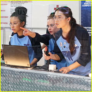 Mariana Gets Stressed Out Over a Robot Competition on 'The Fosters'