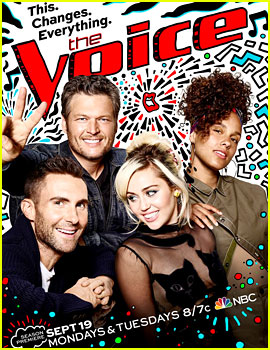 'The Voice' Debuts New Poster Featuring Miley Cyrus!