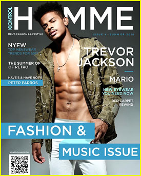 Trevor Jackson Goes Shirtless For 'Kontrol Homme'; Drops New Song 'Come Again'