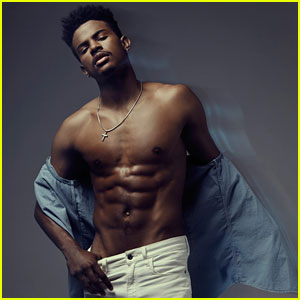 Trevor Jackson Goes Shirtless & Talks Music With 'Glamoholic' Mag