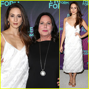 Troian Bellisario Brings I. Marlene King As Her Date To Disney's TCA Summer Party