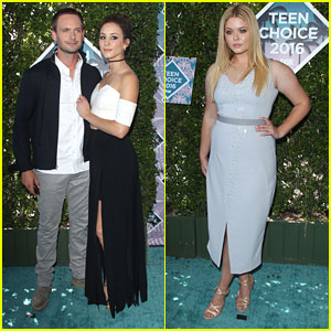 Troian Bellisario Thanks Fiance Patrick J. Adams For Teen Choice Award Date Night