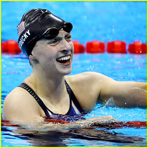 Katie Ledecky Wins Her Third Olympic Medal!