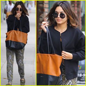 Vanessa Hudgens Enjoys Her Weekend Off!